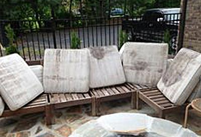 Toronto Outdoor Patio Cushions Cleaning Service